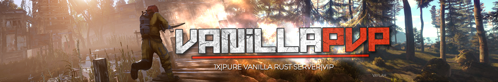 Rust Vanilla Server