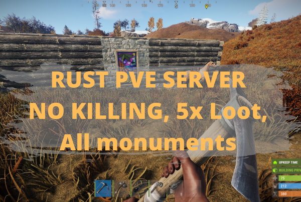 Rust PVE Server