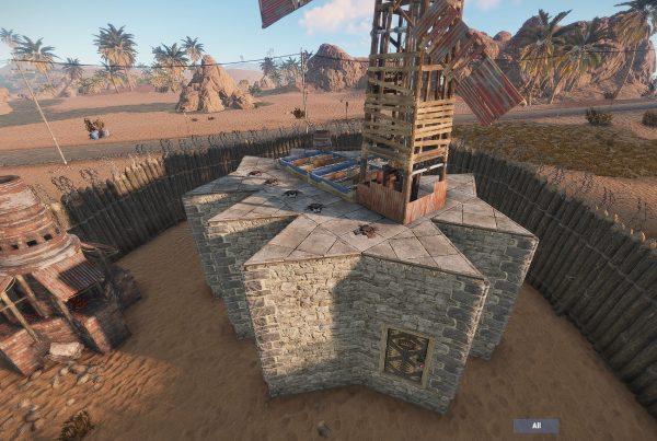 Rust Creative - raidable bases
